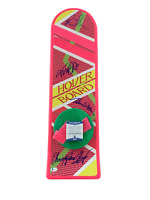 FOX LLOYD THOMPSON WILSON BACK TO THE FUTURE AUTOGRAPHED HOVERBOARD BECKETT 2