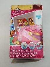 Disney Princess 3 Piece Twin Sheet Set (SH28-14)