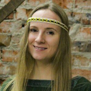 Reenactment Headband, Medieval Reenactment, Russian Reenactment, Woven Headband
