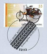 BRD 2011: Automobil Nr. 2867 mit Bonner Ersttags-Sonderstempel! 1A erhalten!