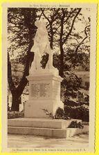 cpa 81 BRASSAC (Tarn) Le MONUMENT aux MORTS Guerre 14-18 Liste des Noms Lisible