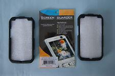 Motorola Photon Electrify rigid blk plastic cases Screen Guarder protector sheet