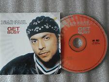 CD-SEAN PAUL-GET BUSY-DUTTY ROCK-DIWALI RIDDIM INSTRUMENTAL-(CD SINGLE)03-2TRACK