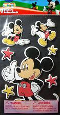 NEW 7 pc  MICKEY Mickey Mouse Stars   3D Foam Stickers  DISNEY SANDYLION