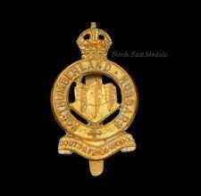 Northumberland Hussars Yeomanry Cap Badge