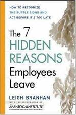 The 7 Hidden Reasons Employees Leave Leigh Branham