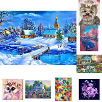 EE_ EG_ 5D Resin Diamond Painting Cross Stitch Kit DIY Bedroom Decor Wall Craft