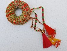 VNTG. RAJASTHANI CARRYING RINGS WORN HEAD TO FACILITATE CARRYING JUGS OF WATER