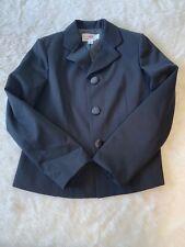 H&M Comme Des Garçons Black Wool Blazer Size US 12 EU 42