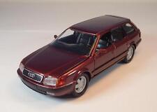 Schabak 1/43 1055 AUDI 100 Avant rosso scuro metallizzato in werbebox #1069