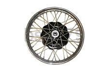 """Wheel rim 19"""" (chromed) with spokes, brake drum and nut URAL DNEPR K-750 M72"""