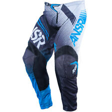 "32"" Answer Syncron AIR Vented MX Motorbike BMX Pants Black Blue $129.95"