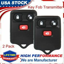 2x Keyless Entry Car Remote Control Key Fob Transmitter Alarm for Ford F150 F250
