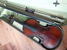 Violine Geige 4/4 im Holzkoffer mit Bögen