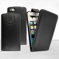 PU Leather Ultra Slim Top Flip Case Cover for Apple iPhone 4 6 Plus 5 iPod Touch