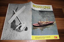 MODELLBAU und BASTELN  # 5/1961 -- Zeitschrift für DDR Heimwerker / Geburtstag ?