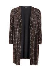 Evans Bronze Sparkle Kimono Cover up Jacket Top - BNWT - Plus Size 26/28
