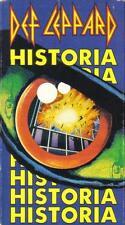 VHS: DEF LEPPARD HISTORIA MUSIC VIDEO