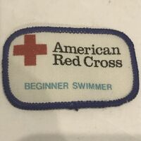 Old Stock AMERICAN RED CROSS BASIC FIRST AID Patch 00M3