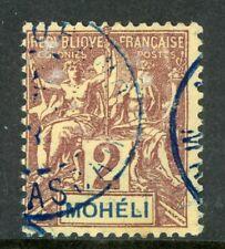 Moheli 1892 French Colony 2¢ Scott #2 VFU H547