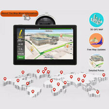 "7"" 8GB Sat Nav Car Truck HGV GPS Navigation Free Maps Speedcam Updates"