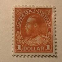 Canada Stamp # 122 Mint OG H UN$150 VF