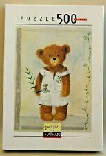 Puzzle Nathan Collection Teddy Bear - 500 Pièces, 36 x 49 cm - Amélie - NEUF
