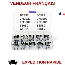 TRANSISTOR BC337 BC327 2N2222 2N2907 2N3904 2N3906 S8050 S8550 A1015 C1815 200PC