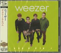 WEEZER-THE GREEN ALBUM-JAPAN SHM-CD D50