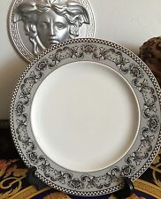 """VERSACE SEVICE PLATE MARQUETERIE 10.5"""" ROSENTHAL New Retired"""