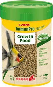 Sera 100ml ImmunPro Nature 45g Probiotic Growth Food for Ornamental Fish Granule