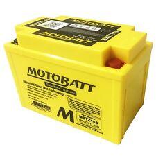 MOTOBATT HIGH POWER  MOTORCYCLE BATTERY FOR HONDA NT700 DEAUVILLE  MBYZ14S