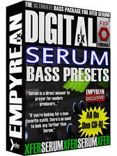 Xfer Serum Bass Presets Sub DJ Electronic EDM Patches Settings Kanye Plugin CD-R