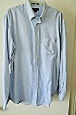 Harold Powell Men's Dress Shirt 16.5-36/37 Blue