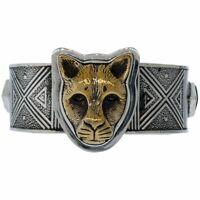 Esme Tabra 925 Silver /& Bronze Jaguar Afghan Lapiz Bangle Cuff Bracelet large