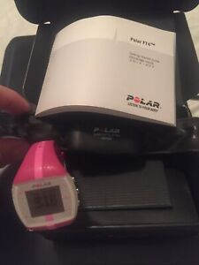 Polar FT4F Fitness Training Heart Rate Monitor Watch Pink