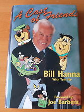 Bill Hanna ' A Cast of Friends '  Signed  1st Edition.    NM