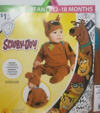Scooby-Doo Halloween Costume Infant/ Toddler 12 - 18 Months  Romper & Hat