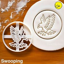 Hawk cookie cutter | Ornithology flying bird forest wildlife birthday party zoo