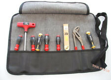 9 POCKET CHISEL ROLL / TOOL HOLDER 50CM X 35CM