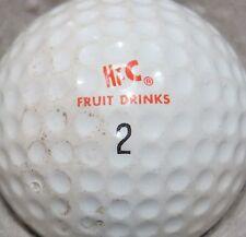 (1) Hi-C Hi C Fruit Drinks Vintage Vitamin C Drink Logo Golf Ball