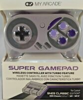 My Arcade Super Gamepad Wireless Turbo Controller for SNES & NES Classic Edition