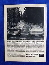 Opel Kadett L Coupe Caravan - Werbeanzeige Reklame Advertisement 1964 __ (005