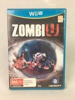 Zombi U - With Manual - Nintendo Wii U - PAL