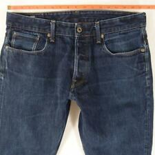 Mens G-Star 3301 TAPERED Tapered Blue Jeans W34 L32
