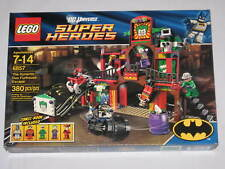 LEGO 6857 Batman The DYNAMIC DUO FUNHOUSE ESCAPE Set Super Heroes NEW NIB SEALED