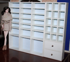 Fashion royalty 1:6 scale Dolls furniture Shoe cabinet/Jewelry cabinet 2pc