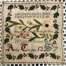 Antique Sampler 1894