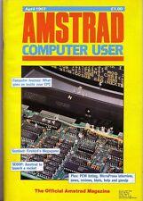 AMSTRAD computer (Acu) MAGAZINE-Aprile 1987-ECCELLENTE