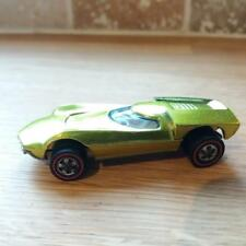 Vintage Hot Wheels Redline Turbofire in Coolant Green Very Good Condition